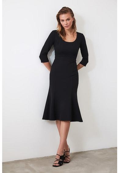 Trendyol Разкроена рокля с 3/4 ръкави Жени