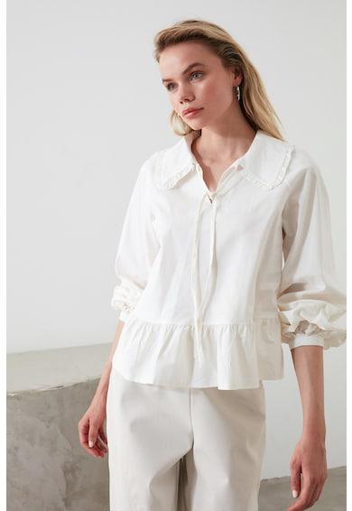 Trendyol Блуза с яка Peter Pan Жени