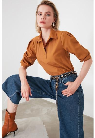 Trendyol Блуза с класическа яка Жени