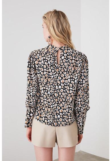 Trendyol Trendyo, Десенирана блуза с отвори на гърба Жени
