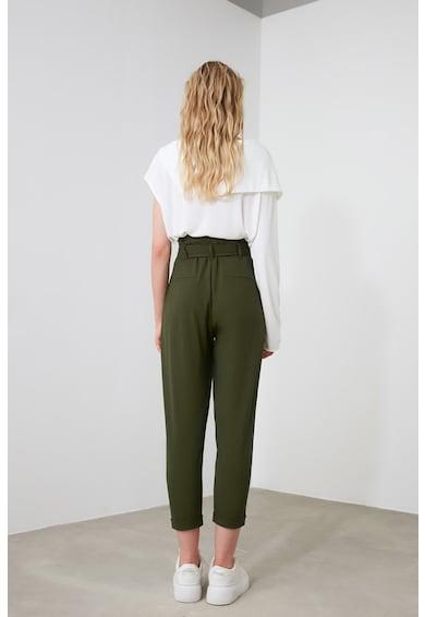 Trendyol Панталон над глезена с висока талия Жени