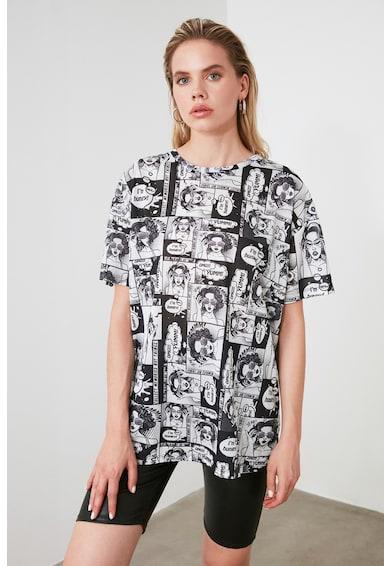 Trendyol Тениска с фигурална щампа Жени