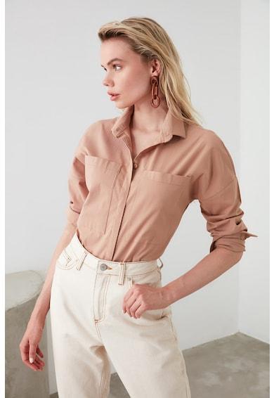 Trendyol Риза с уголемени джобове Жени