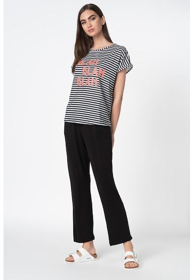 Trendyol Pantaloni de pijama si tricou cu dungi Femei