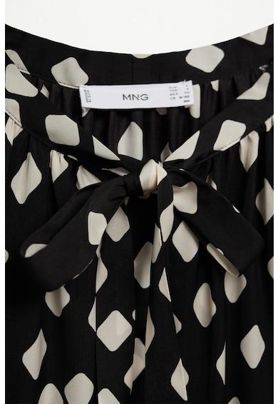 Mango Рокля Rombo тип риза с фигурална щампа Жени