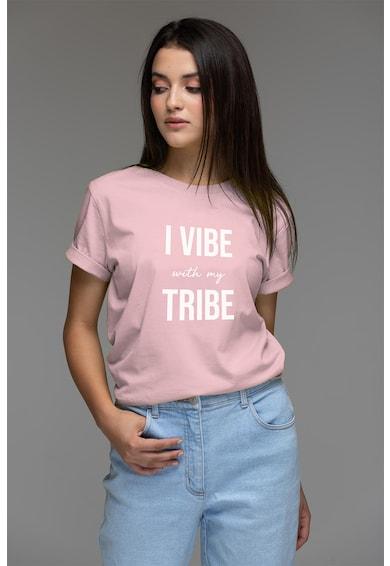 Andreea Raicu Тениска от органичен памук с надпис Жени