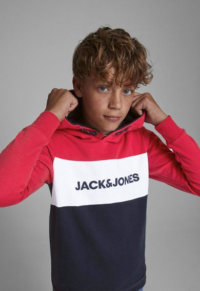 Jack&Jones Hanorac cu imprimeu logo Baieti