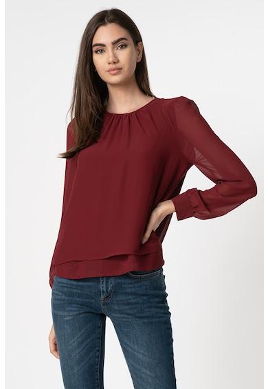 Vero Moda Bluza vaporoasa cu aspect stratificat Iris Femei