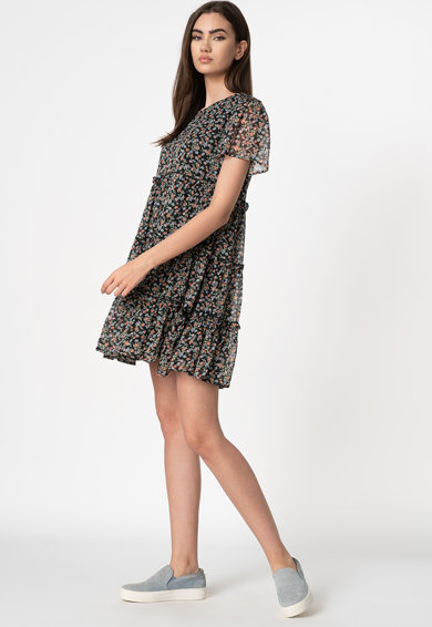 JdY Rochie mini cu model floral Ditsy Femei