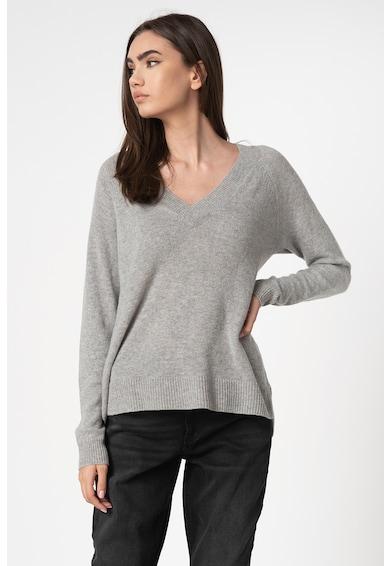 Vero Moda Pulover tricotat fin din amestec de lana si casmir Darnel Femei