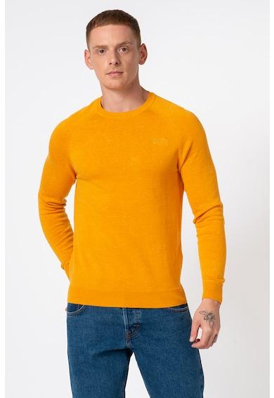 SUPERDRY Pulover tricotat fin cu logo Barbati