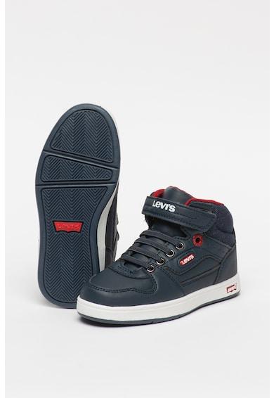 Levi's Kids Pantofi sport mid-high din piele ecologica cu insertii din denim Fete