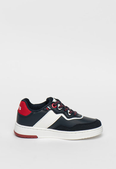 Levi's Kids Pantofi sport din piele ecologica cu garnituri cu logo Fete