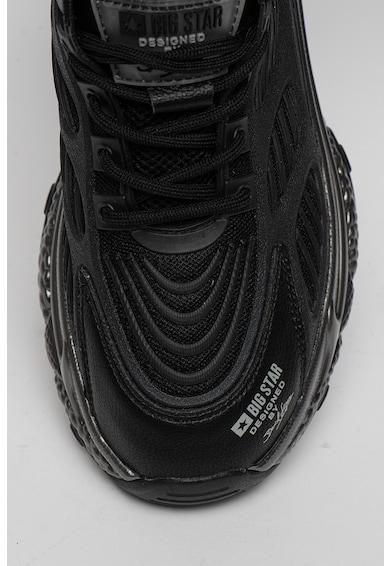 Big Star Pantofi sport cu garnituri de piele si aspect masiv Femei