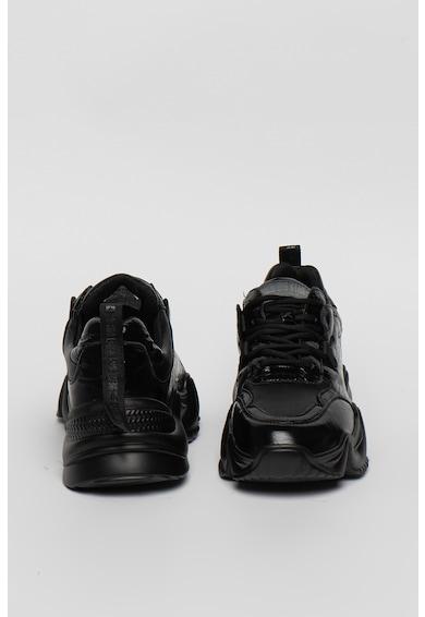 Big Star Pantofi sport de piele cu aspect masiv Femei