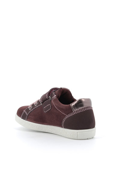 Primigi Pantofi sport de piele intoarsa si piele ecologica Fete