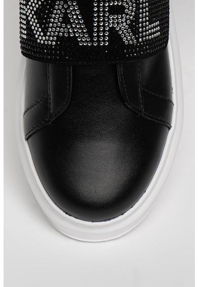 Karl Lagerfeld Pantofi sport din piele cu insertii din plasa Kapri Femei