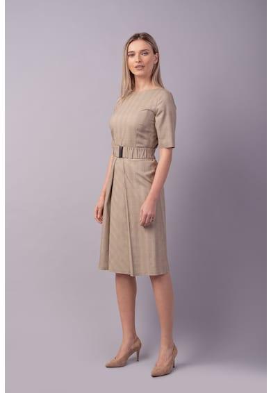 Couture de Marie Rochie midi cu o curea in talie Femei