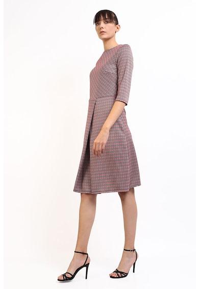 Couture de Marie Rochie midi in carouri cu model stratificat Femei