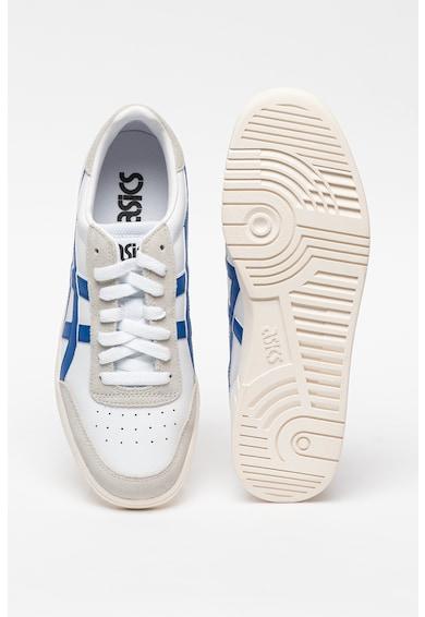 ASICS Tiger Pantofi sport de piele cu garnituri de piele intoarsa Gel-Vickka Barbati