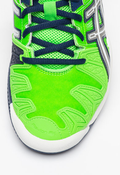 Asics Pantofi de piele ecologica pentru tenis Gel Resolutions 5 Clay Barbati