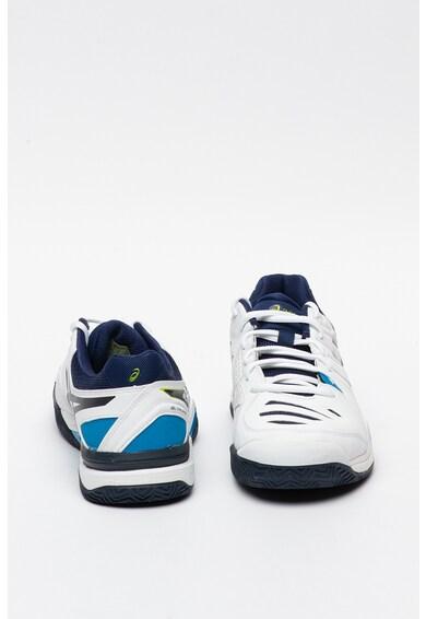 Asics Pantofi de piele ecologica, pentru tenis Gel Challenger 10 Clay Barbati