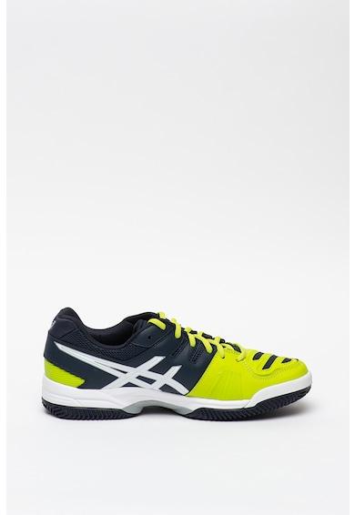 Asics Pantofi de piele ecologica pentru antrenament Gel Padel Top 2 Sg Barbati