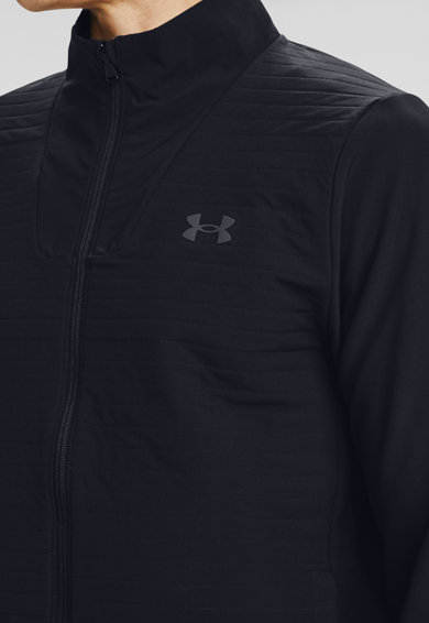 Under Armour Jacheta de trening, cu imprimeu logo Storm Revo Golf Barbati