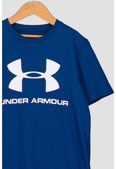 Under Armour Bő fazonú sportpóló logós mintával Fiú