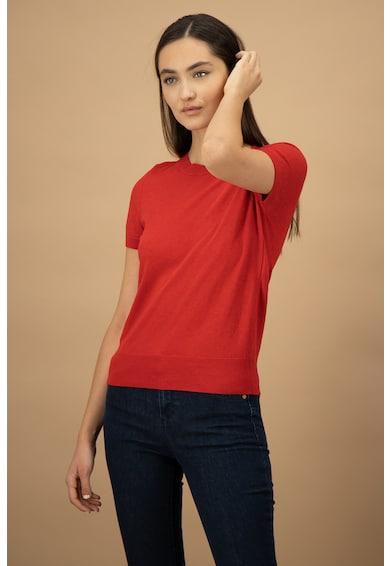 United Colors of Benetton Pulover tricotat fin cu maneci scurte Femei