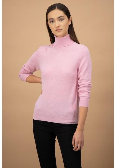 United Colors of Benetton Pulover de lana virgina, cu guler inalt Femei