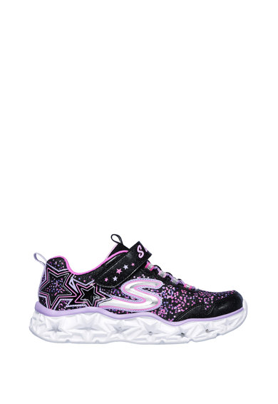 Skechers Pantofi sport cu velcro S Lights - Galaxy Lights Fete