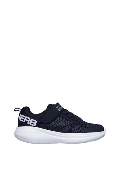 Skechers Pantofi sport din plasa cu velcro Tharo Baieti
