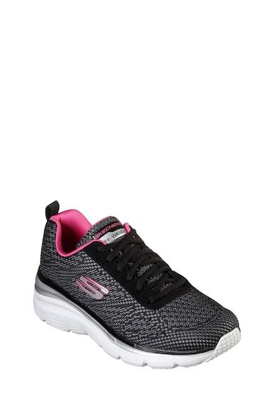 Skechers Pantofi sport din plasa cu logo Bold Boundaries Femei