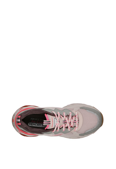Skechers Pantofi sport cu aspect masiv din piele si plasa D'Lites 3.0 - Air Fantastic Vision Femei