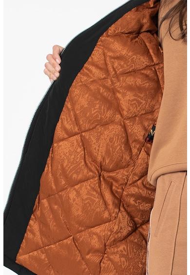 Maison Scotch Bélelt kabát levehető kapucnival női