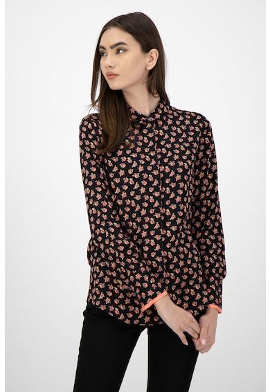 Maison Scotch Риза с дълги ръкави и яка Жени