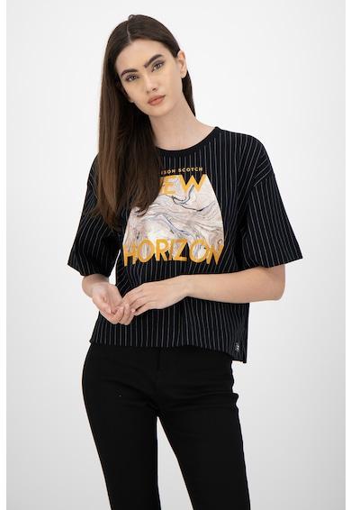 Maison Scotch Тениска с паднали ръкави Жени