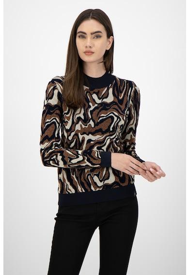 Maison Scotch Пуловер с десен и лурекс Жени