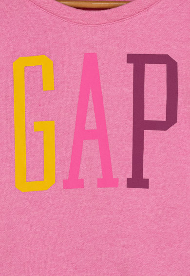 GAP Bluza sport cu imprimeu logo contrastant Fete