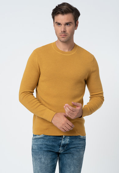Banana Republic Pulover din lana tricotat fin Barbati