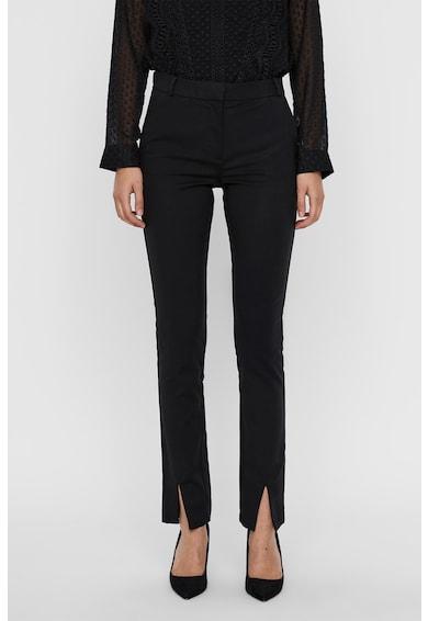 Vero Moda Pantaloni eleganti cu slituri frontale Femei