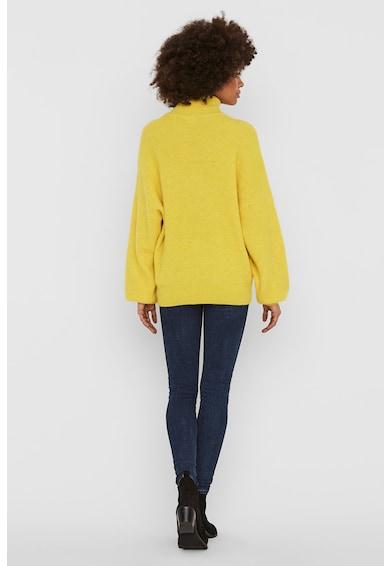 Vero Moda Pulover din amestec de lana cu guler inalt Femei