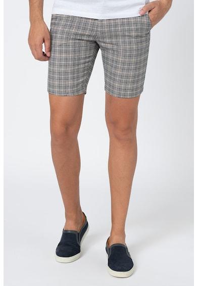 Casual Friday Pantaloni scurti cu model in carouri Barbati