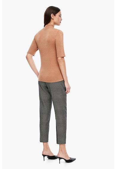 s.Oliver Pulover tricotat fin cu guler mediu Femei