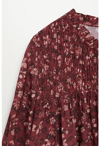 Mango Rochie cu imprimeu floral si insertie elastica frontala Fete