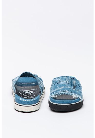 Diesel Papuci cu aspect de denim Grandz Barbati