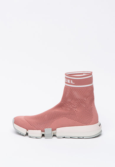Diesel Pantofi sport hi-top, cu parte superioara tricotata Padola Femei