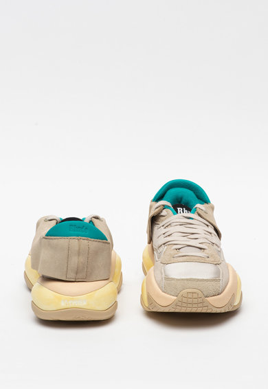 Puma Pantofi sport din piele intoarsa cu insertii din plasa Alternation Rhude Femei