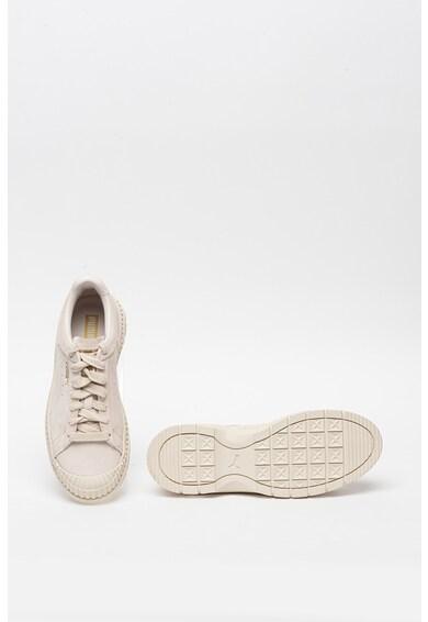 Puma Pantofi sport din piele intoarsa Utility Femei